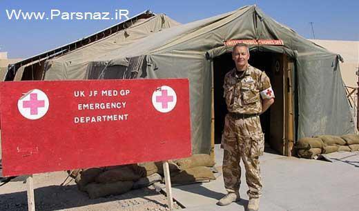 www.parsnaz.ir - زایمان عجیب این سرباز خانم در خط مقدم + عکس
