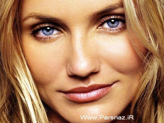 عکس هایی از زیباترین چشم ها در بین زنان معروف هالیوود