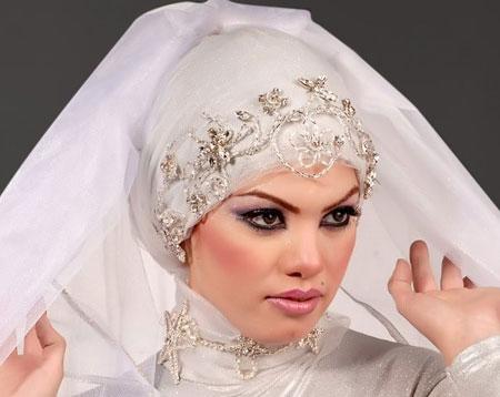 مدل آرایش عروس محجبه - سری جدید
